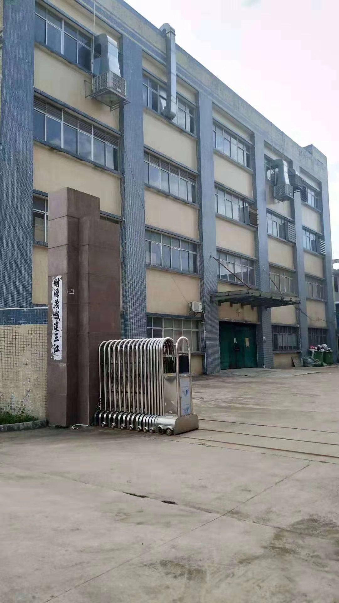 惠州博罗独院标准厂房5800㎡+1400㎡单层招租
