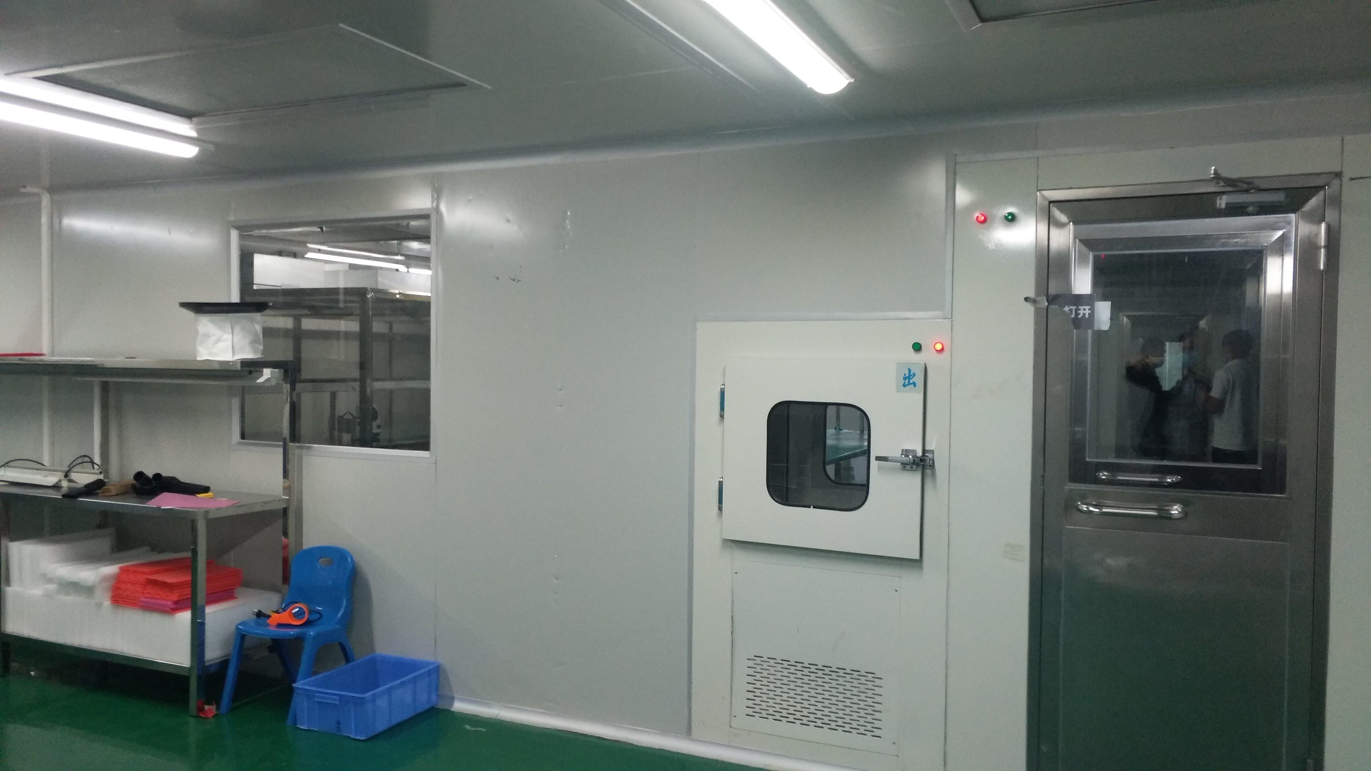 万级无尘车间厂房1600平方,现成装修免费使用,可办环评,