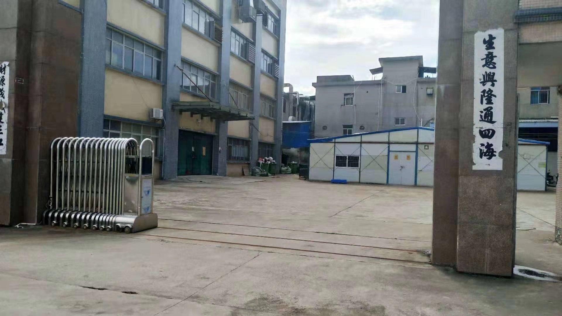 惠阳秋长红本标准独院厂房5800平出租