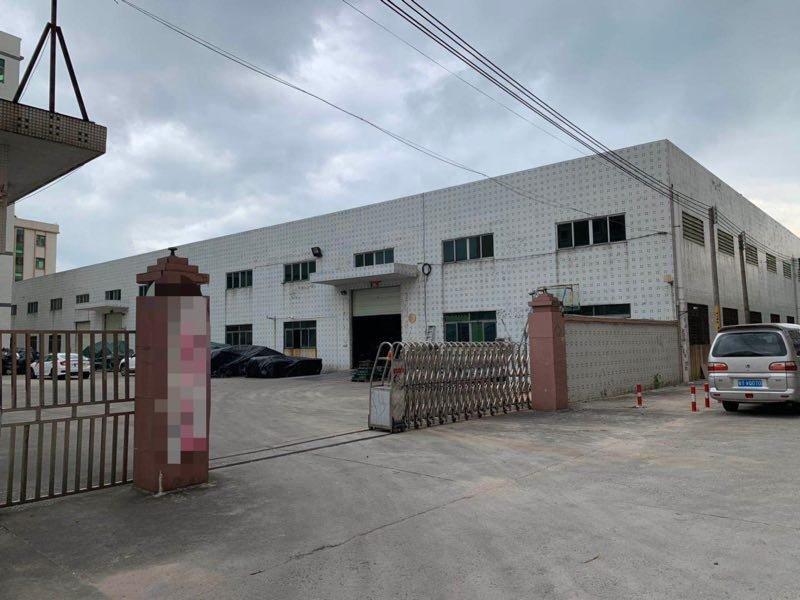 松岗工业区 厂房面积约12000平方中高12米,滴水位10