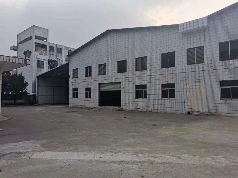 独院单层钢构厂房,加三层宿舍出售