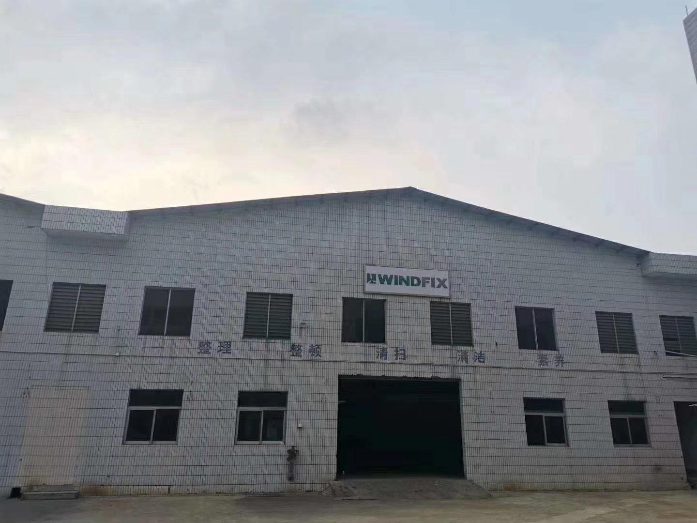 单层十米高钢构独院厂房。