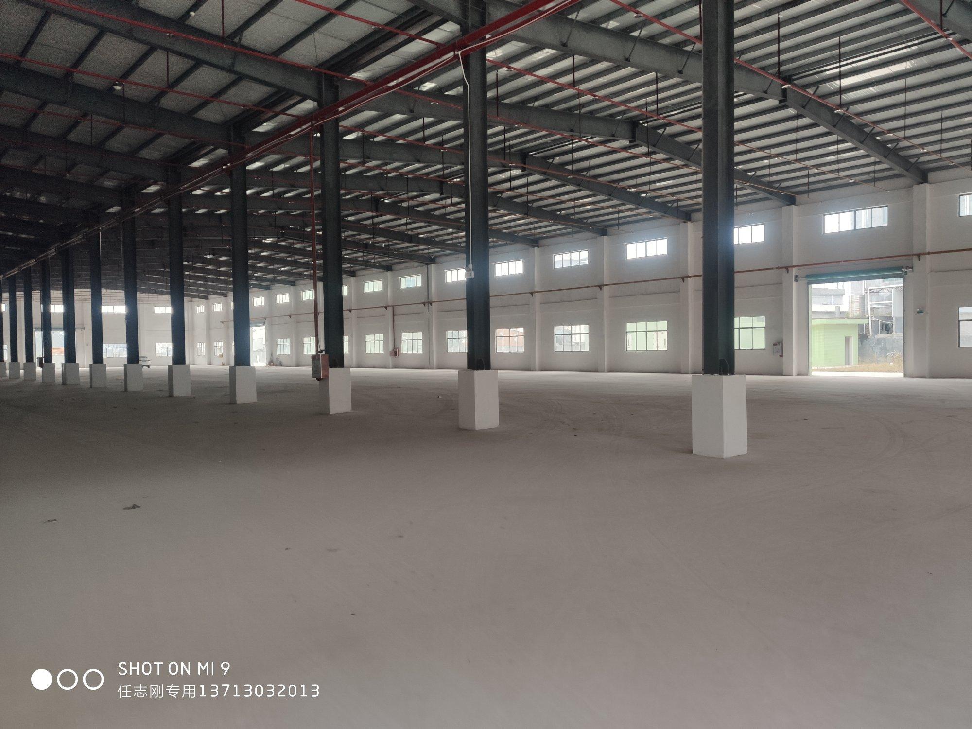 惠州市博罗县龙溪镇原房东独院钢构厂房出租20000平米