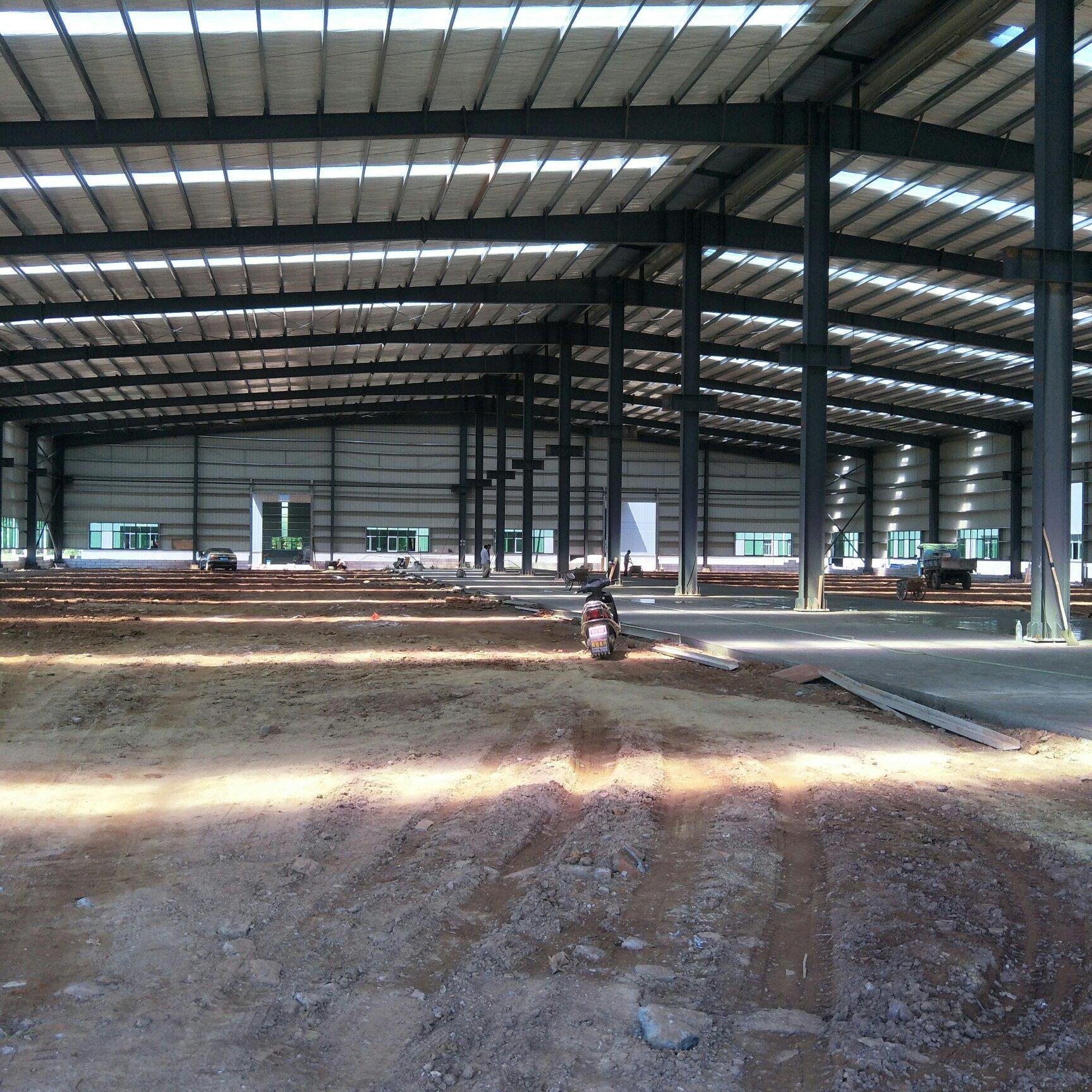 惠州市罗阳镇工业园独院钢构厂房出租