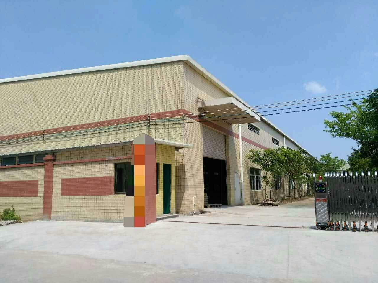 清溪镇独院砖墙到顶钢结构3000平方招租可分租