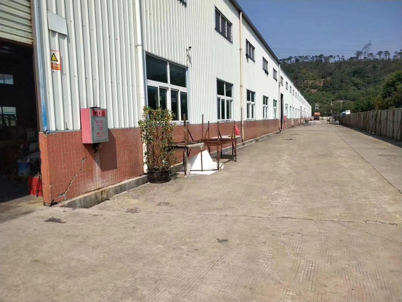 惠州市沥林镇单一层钢构厂房6600平方米出租