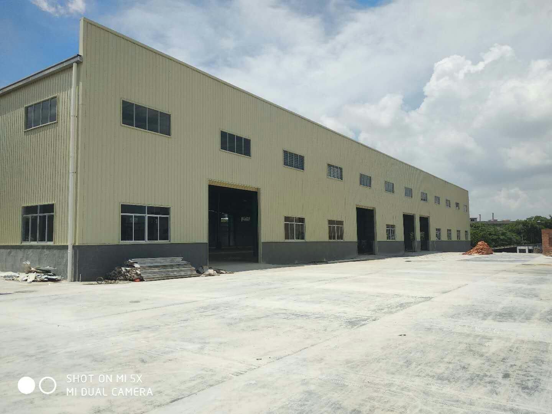 厚街工业钢构6500平方单层厂房仓库出租滴水高度9米交通便利