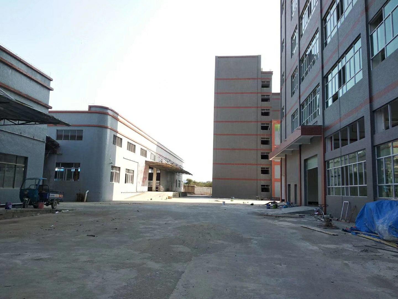 惠州惠东县高速口9米钢构独院原房东厂房7600平