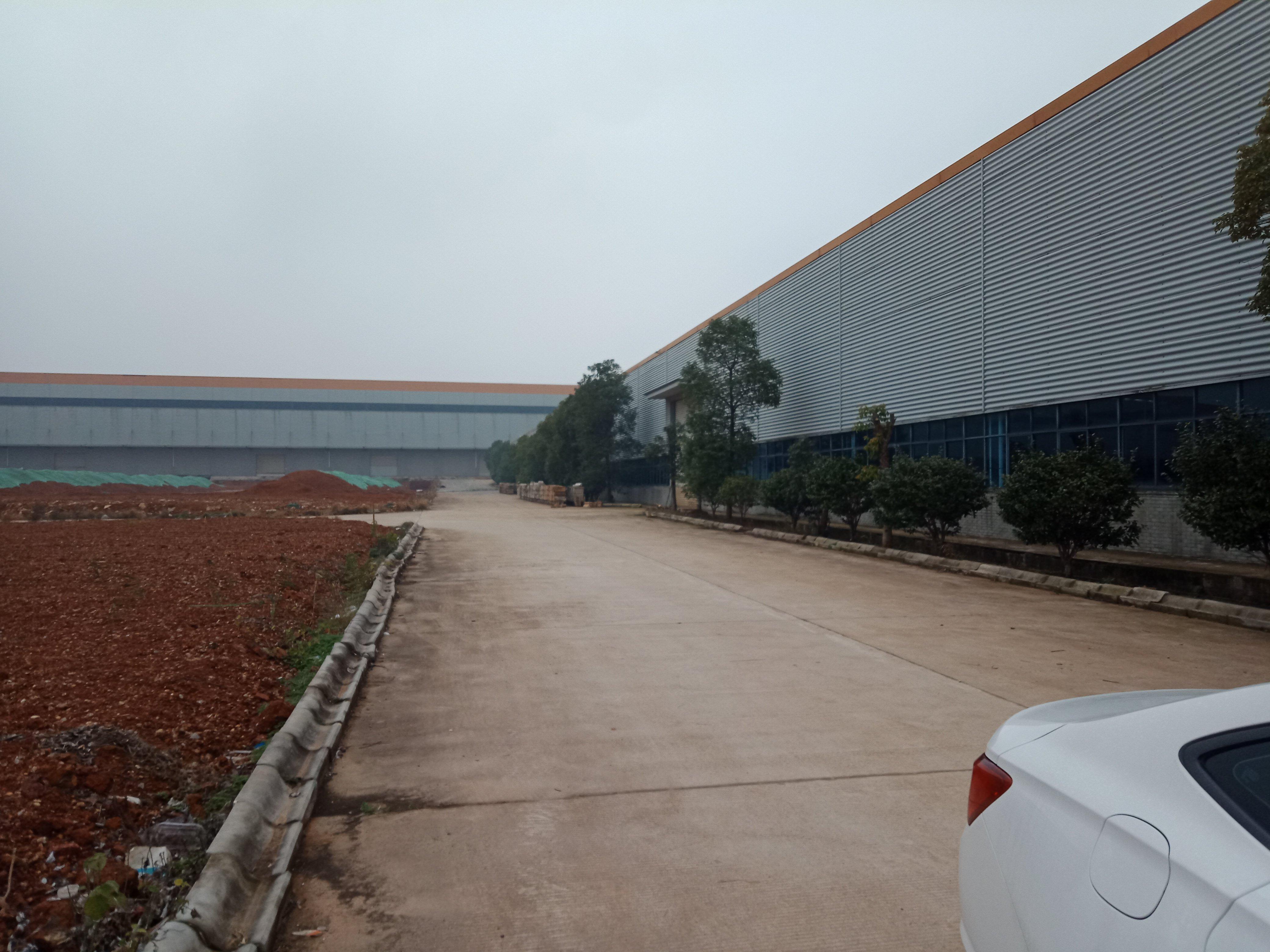 长沙望城工业园大型独院钢结构厂房