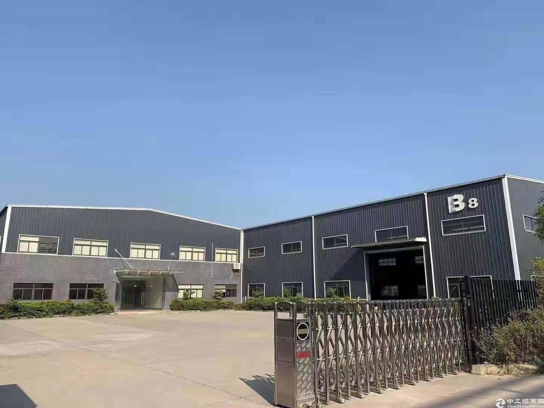 仲恺陈江工业区独院单一层钢结构厂房4000平方滴水10米