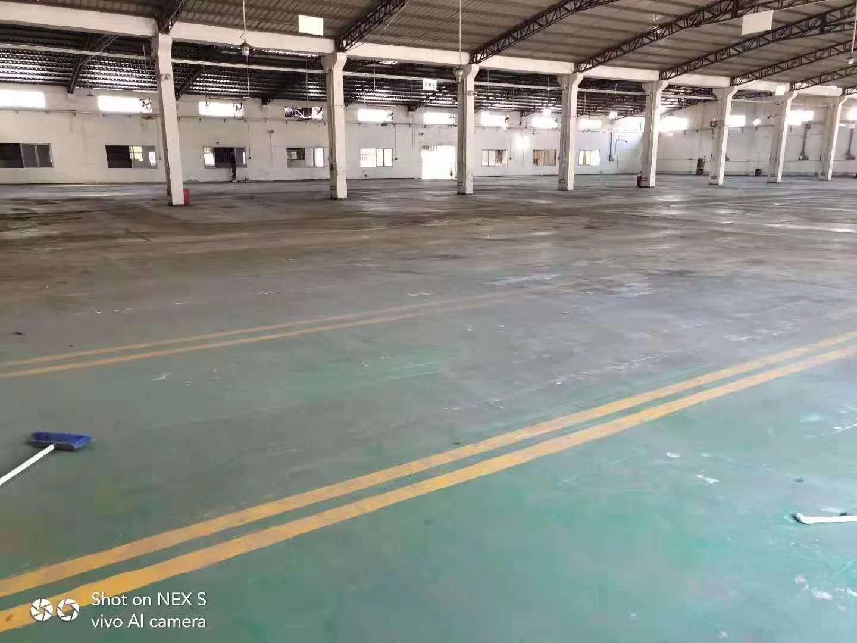 东莞南城8000平方独门独院仓库出租价格便宜,层高8米