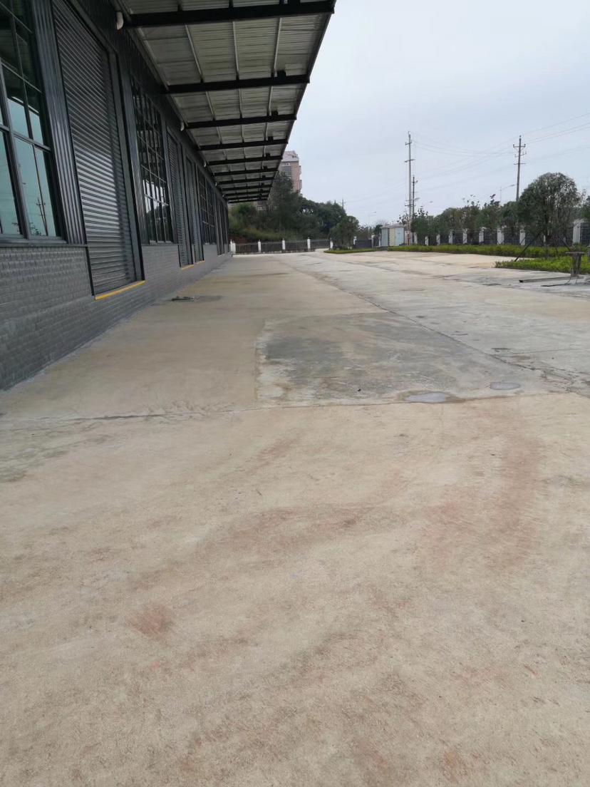 干沙工业园新建厂房5400平米带行车,独门独院