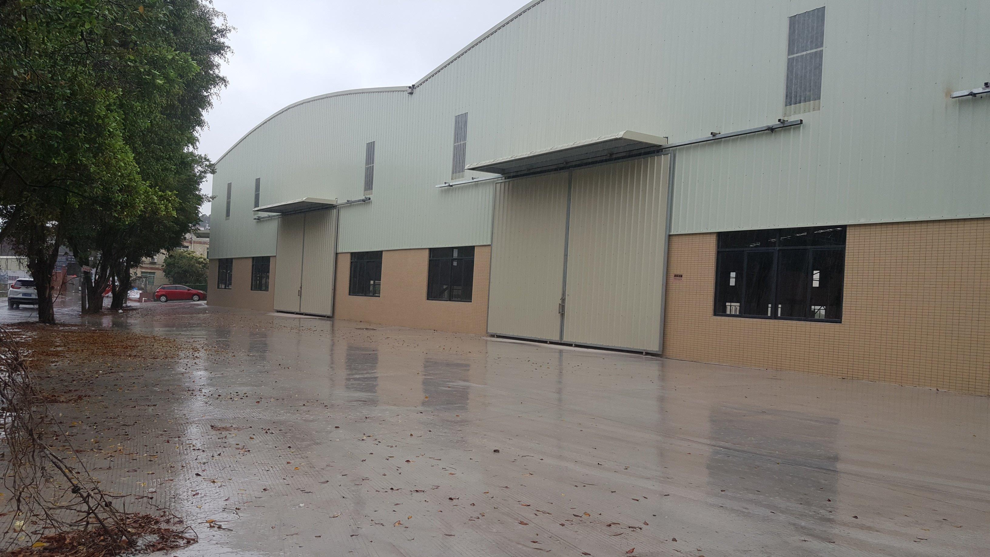 大沥镇颜峰工业区单一层原房东厂房,配备齐全可分租可停放拖头车