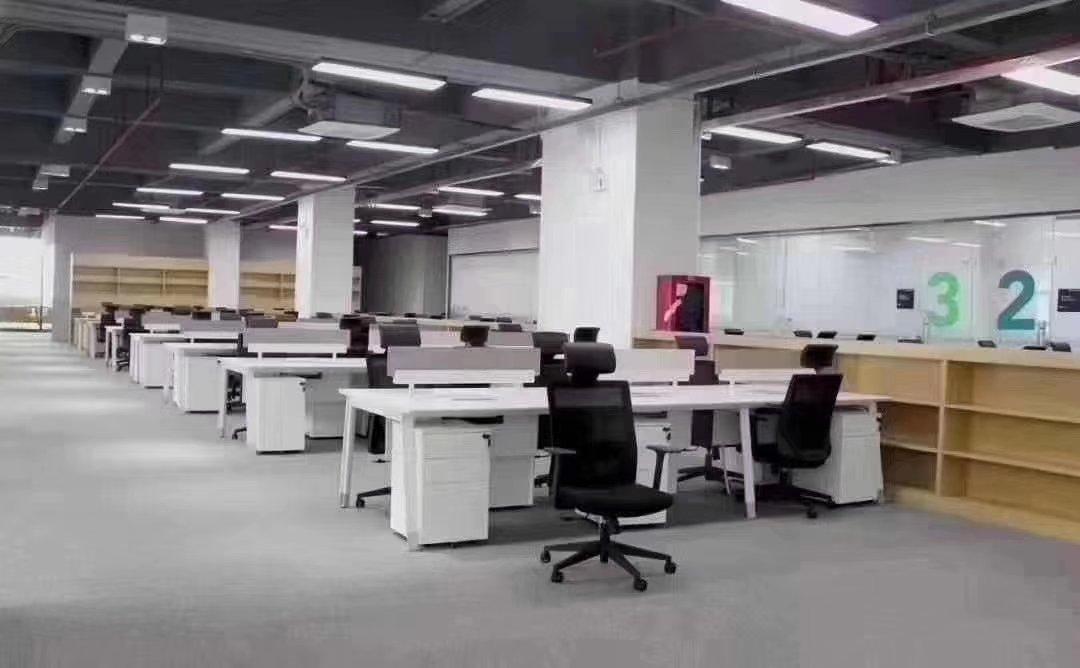 福永107国道边楼上3225平精装修带办公厂房