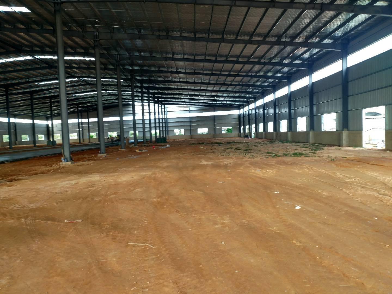 惠州市博罗县新出原房东独院钢构厂房出租8100平米