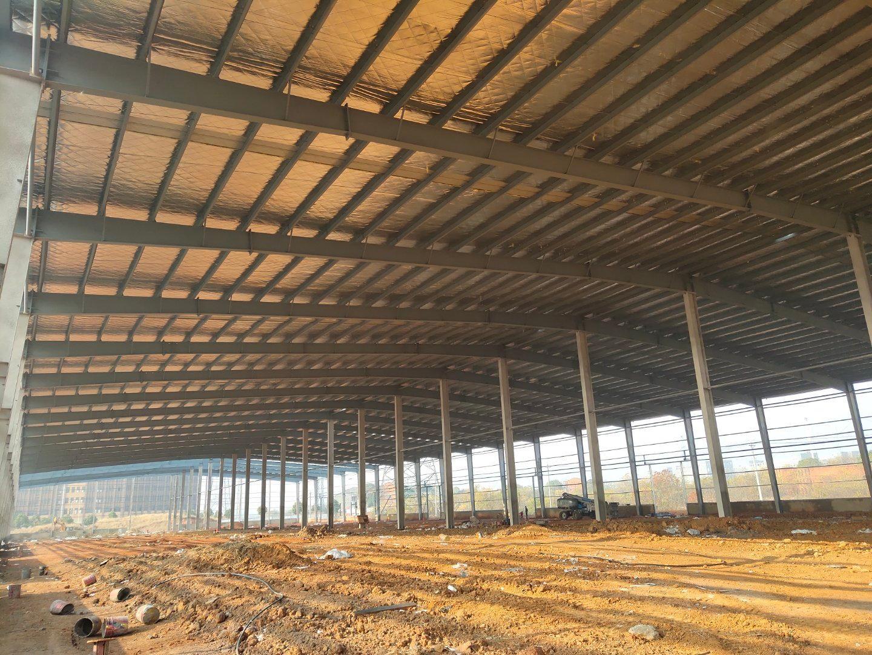 汉口北标准钢构厂房出租,面积一千