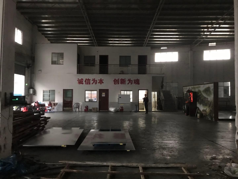 松岗松夏工园原房东单一层厂房,滴水9米,带有现成行车可办环评