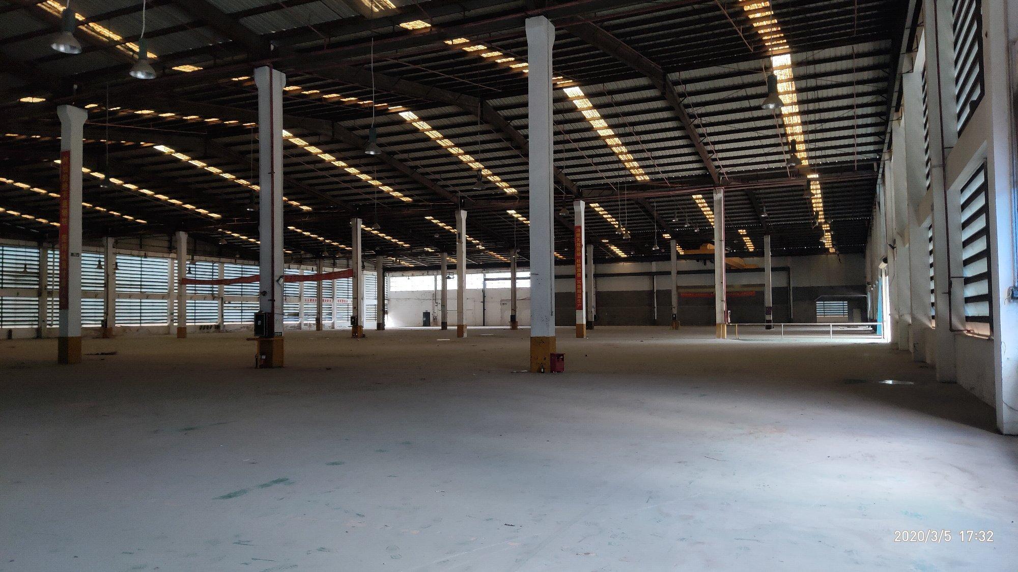 村委钢构!沙井8000平实际面积九成新厂房超大空地仓库运输