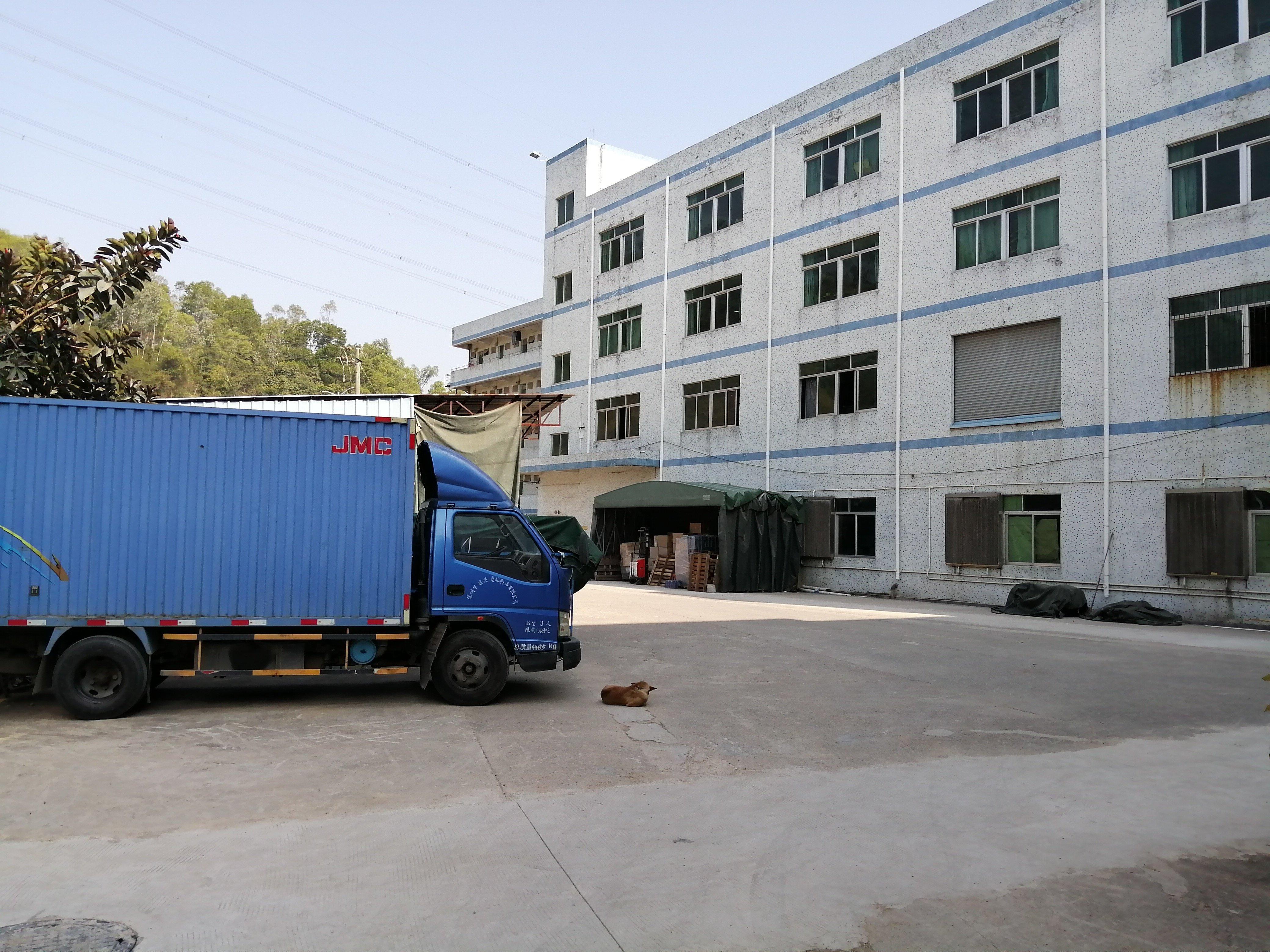 新出盐田村委独院单一层厂房1036平可分租厂房招租
