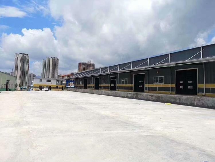 横岗盐田超级钢构厂房35000平滴水7.5米业主直租大小可分