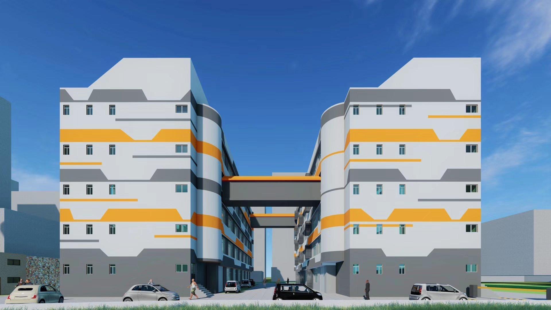 大浪创意园独门独院两栋厂房7500平栋大小可分租
