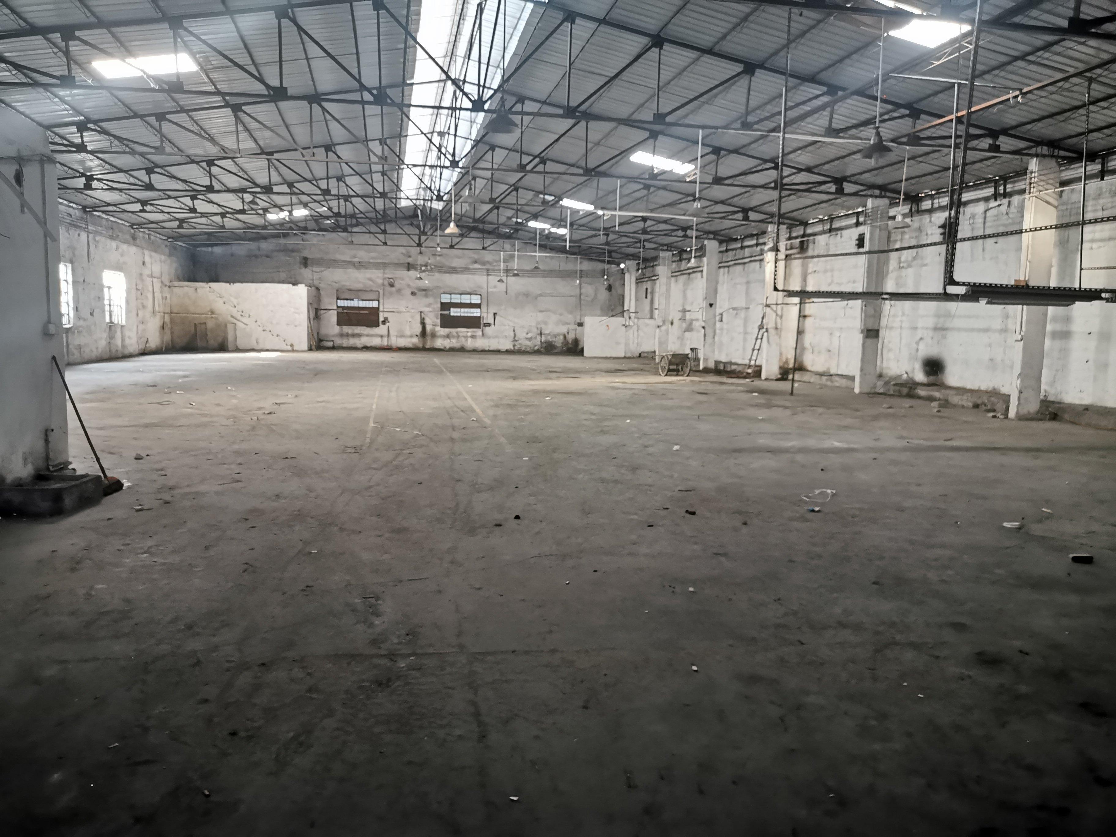 顺德容桂南区工业园区内1400平单一层钢构厂房出租