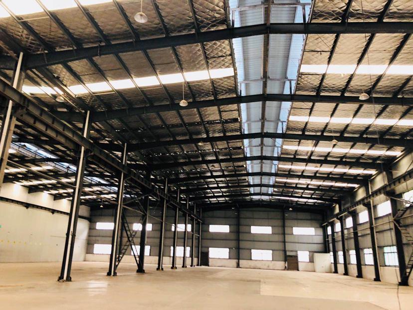 星沙工业园东十路钢结构厂房3300平米带20吨行车-图2