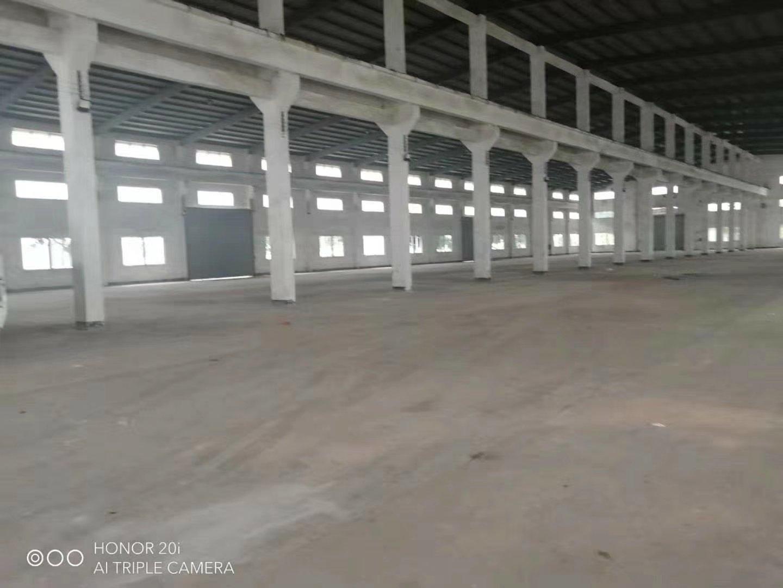 独门独院12500平,带牛角,层高10米,面积大小可分