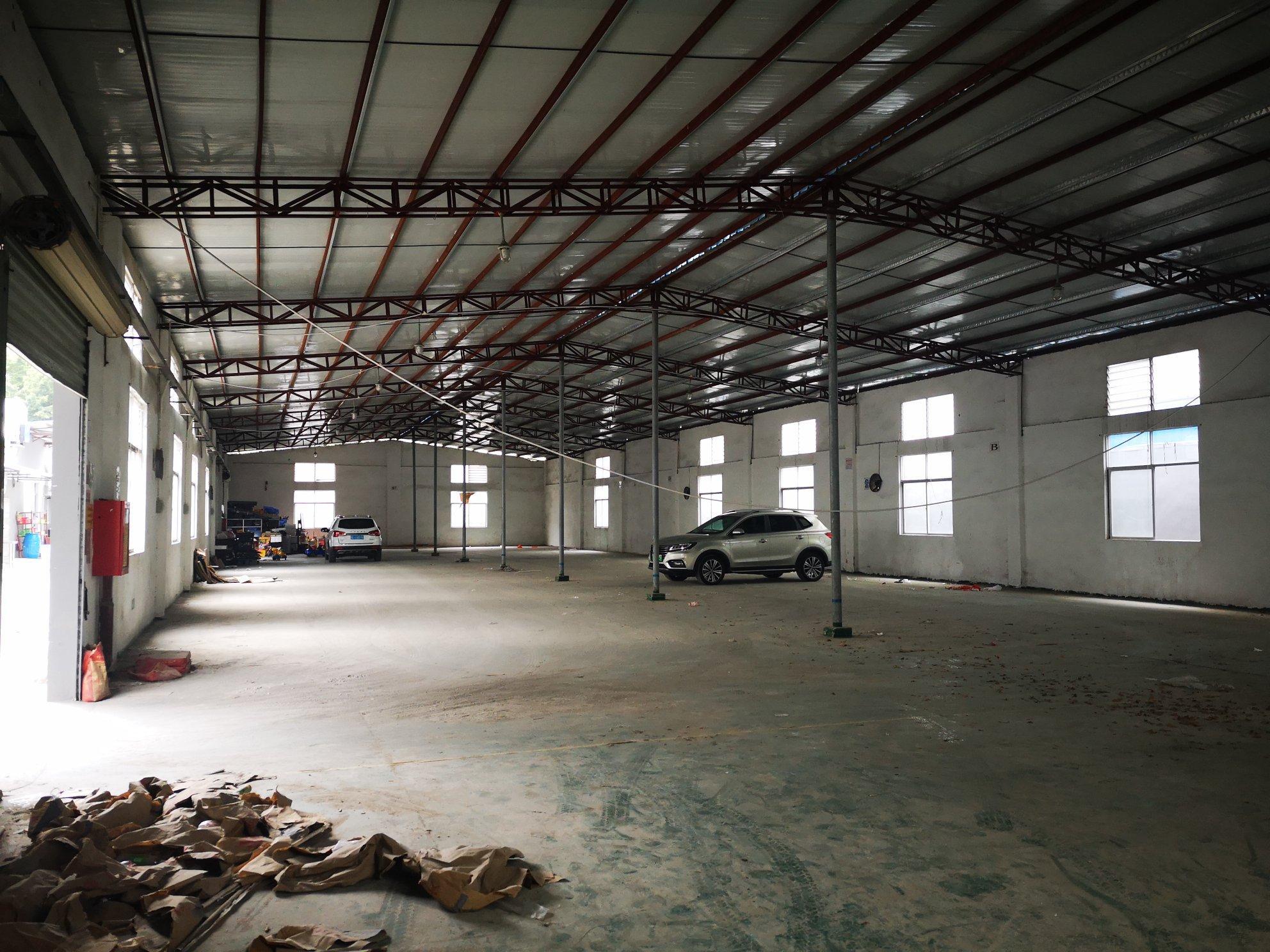 出租龙岗坪地1300平方,原房东厂房实际面积,适合做仓库