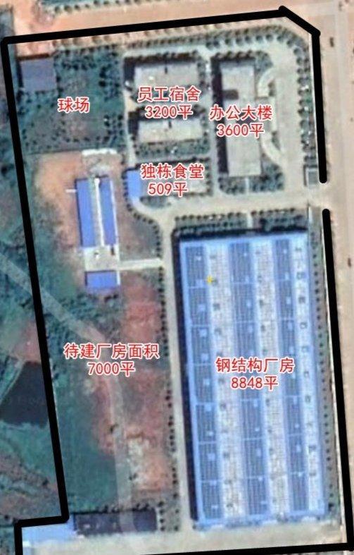 高速口旁独门独院61亩带1.6万平方厂房办公楼宿舍楼整体出售-图2