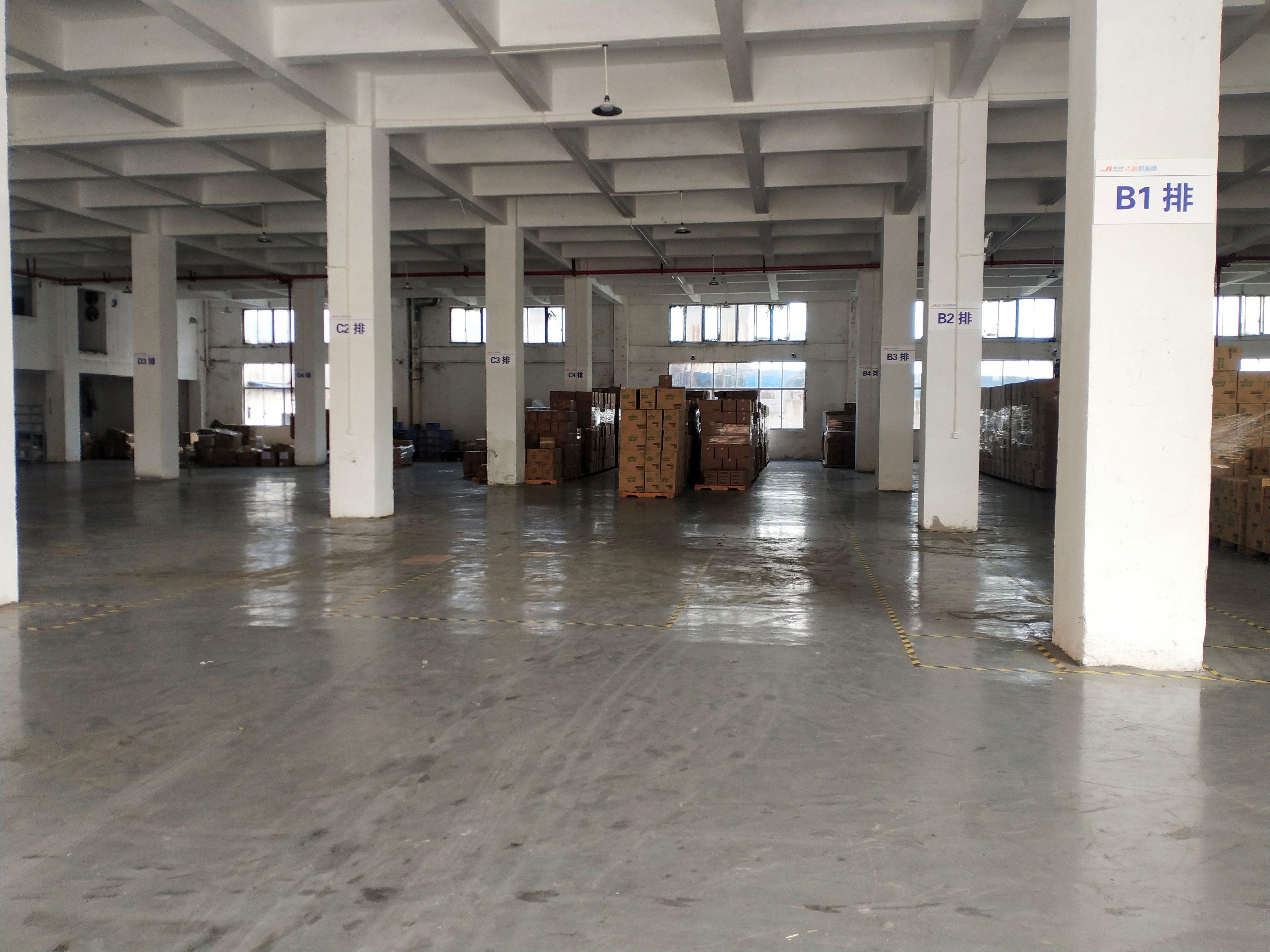 黄浦南岗街道一楼全新地坪漆厂房,滴水6.8米招租,可办环评-图5