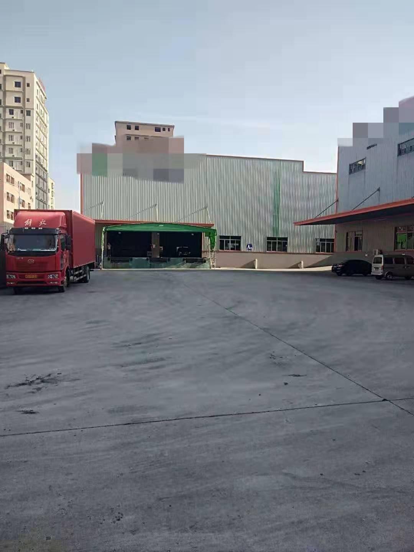 横沥镇带卸货平台独院出租7000平方钢构
