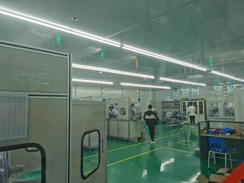 惠东县大岭工业区分租楼上豪华装修厂房1050平,低价出租