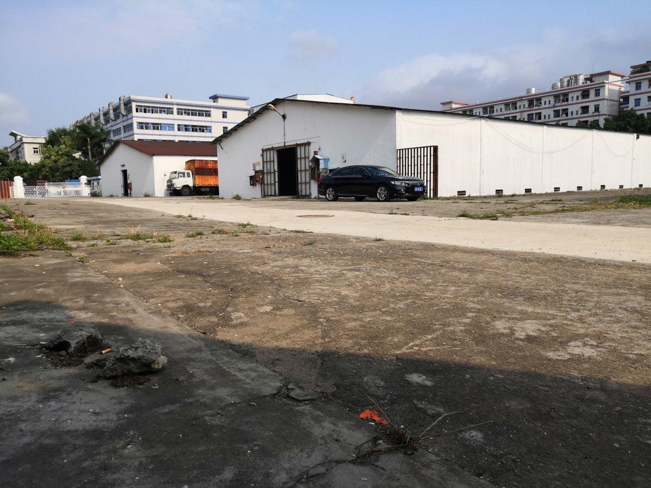 横岗六约附近新出一楼独栋仓库2360