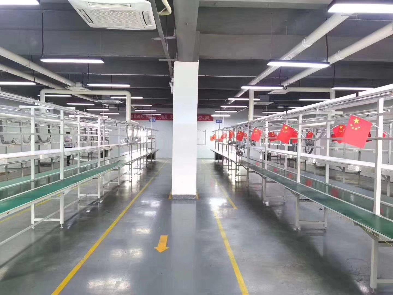 沙井马安山地铁站附近楼上1600平厂房出租