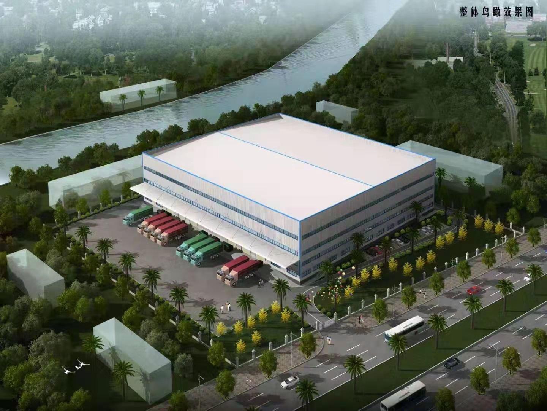 深圳物流仓储50000平方带卸货平台空高12米空地3万平方