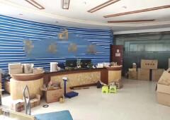 龙华清湖地铁口新出950平方米带精装修办公室出租、价格实惠