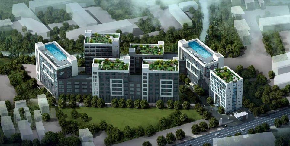肇庆高新区主干道旁全新红本厂房出售可按揭可定制