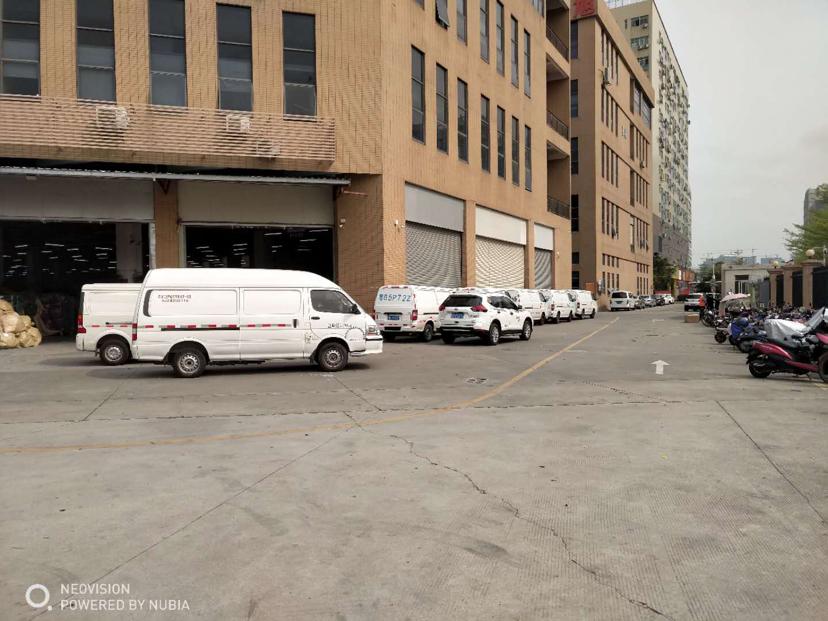 龙华清湖出红本独栋17000平厂房仓库出租1到4层大小可分租