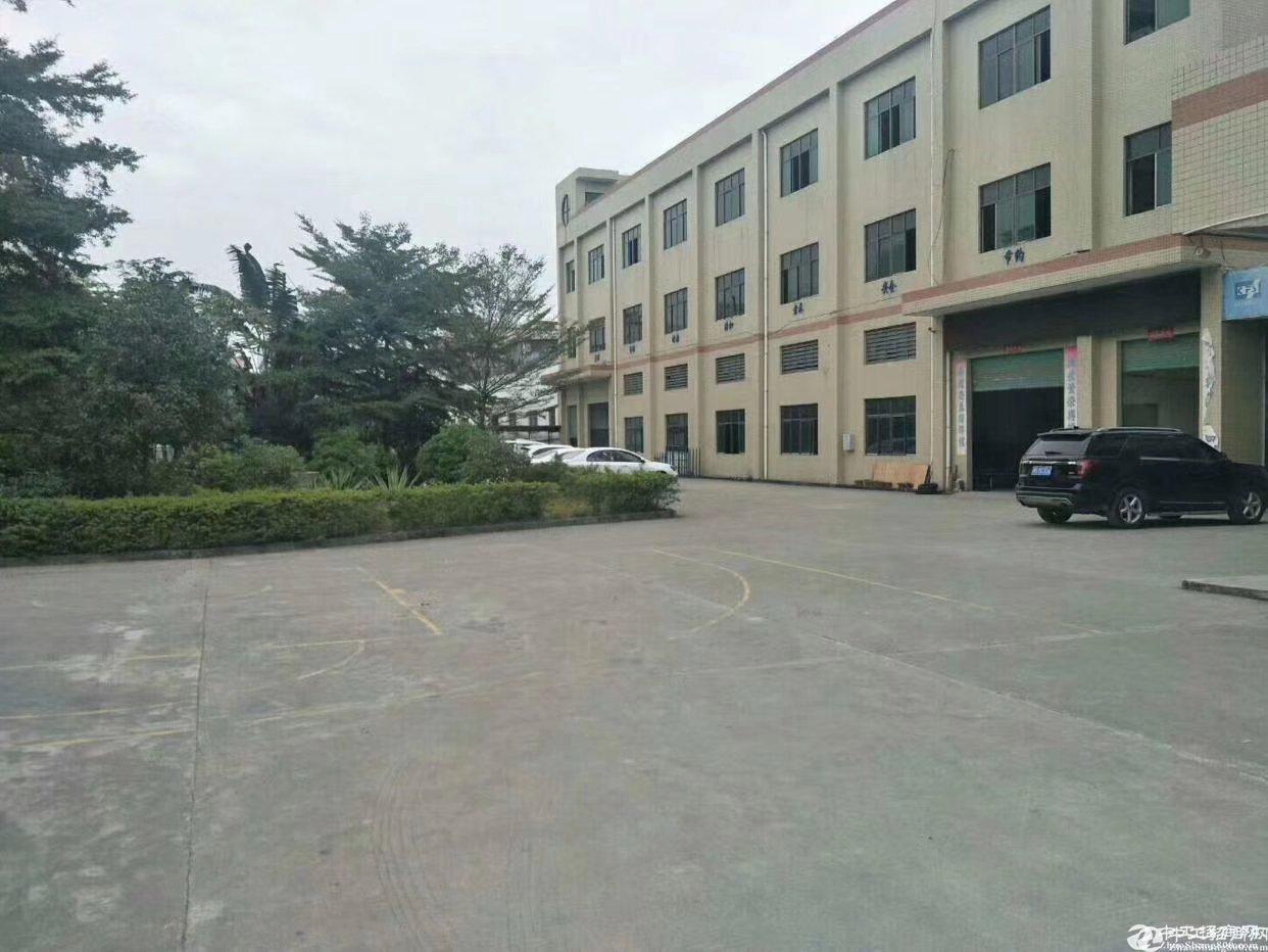 寮步新出原房东一楼2300方货柜车直达车间可办环评