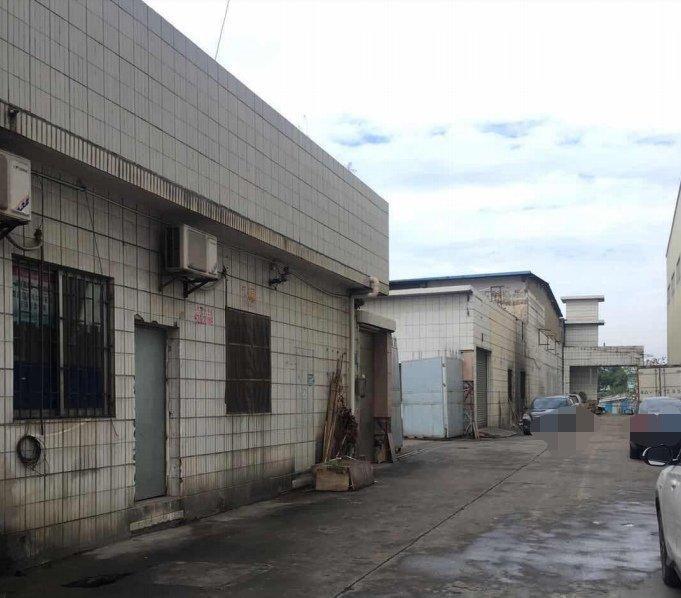 沙井地约10亩建筑6000㎡红本厂房出售