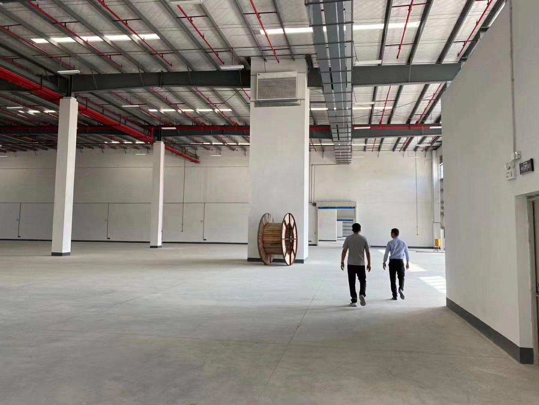 坪山标准物流仓库出租高度10米,有电动升降平台