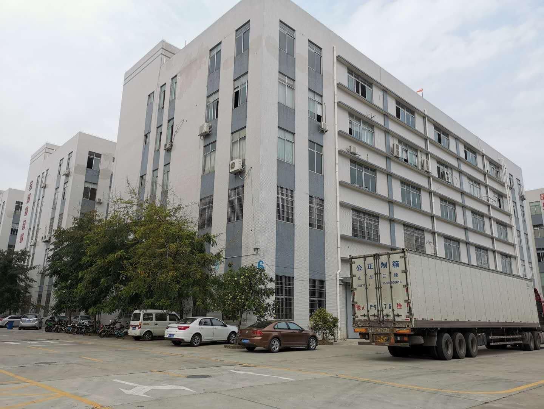 番禺市桥大型工业园楼上精装修厂房招租,管理完善,可办环评