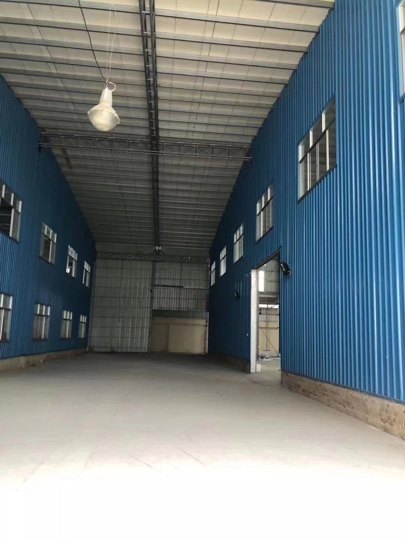 东升镇裕民九村星棚出租1600平,高度10米,成熟工业区。