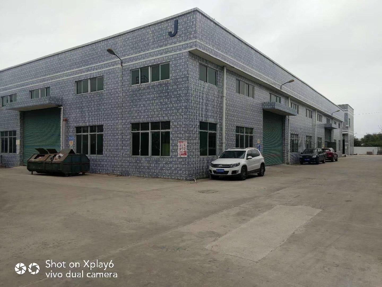 仲恺高新区工业园区独栋砖墙到顶单一层钢构万博app官方下载2600平方米出