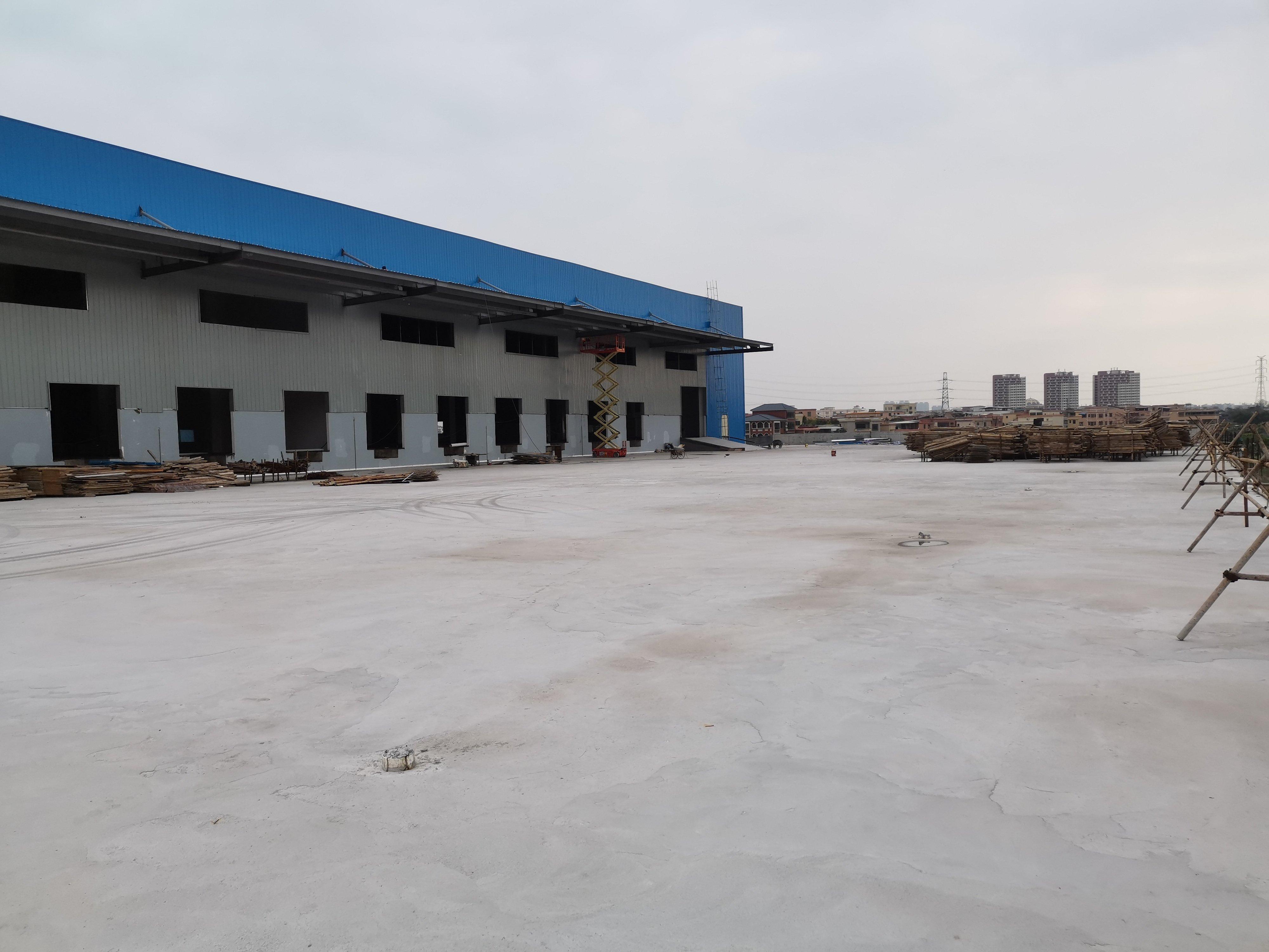 原房东全新物流厂房出租20000平方带卸货平台高度12米