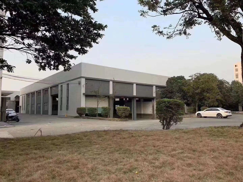 中山小榄花园式单一层厂房2500平方出租,可分租,带现成办公