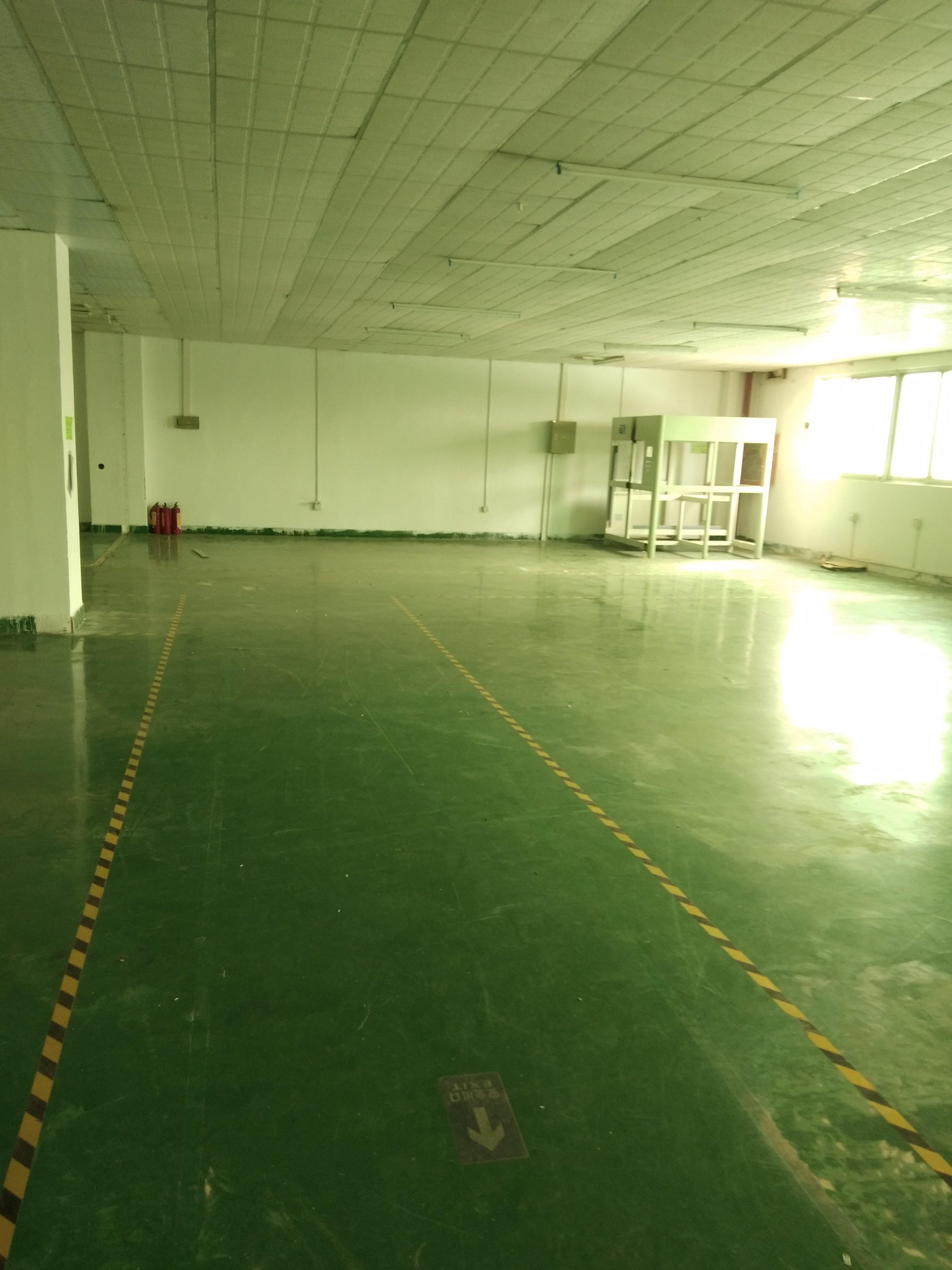 福永107国道边四楼450平精装厂房出租