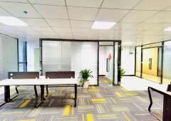 民治地铁口精装写字楼500平米,带办公家俱,可拎包入驻