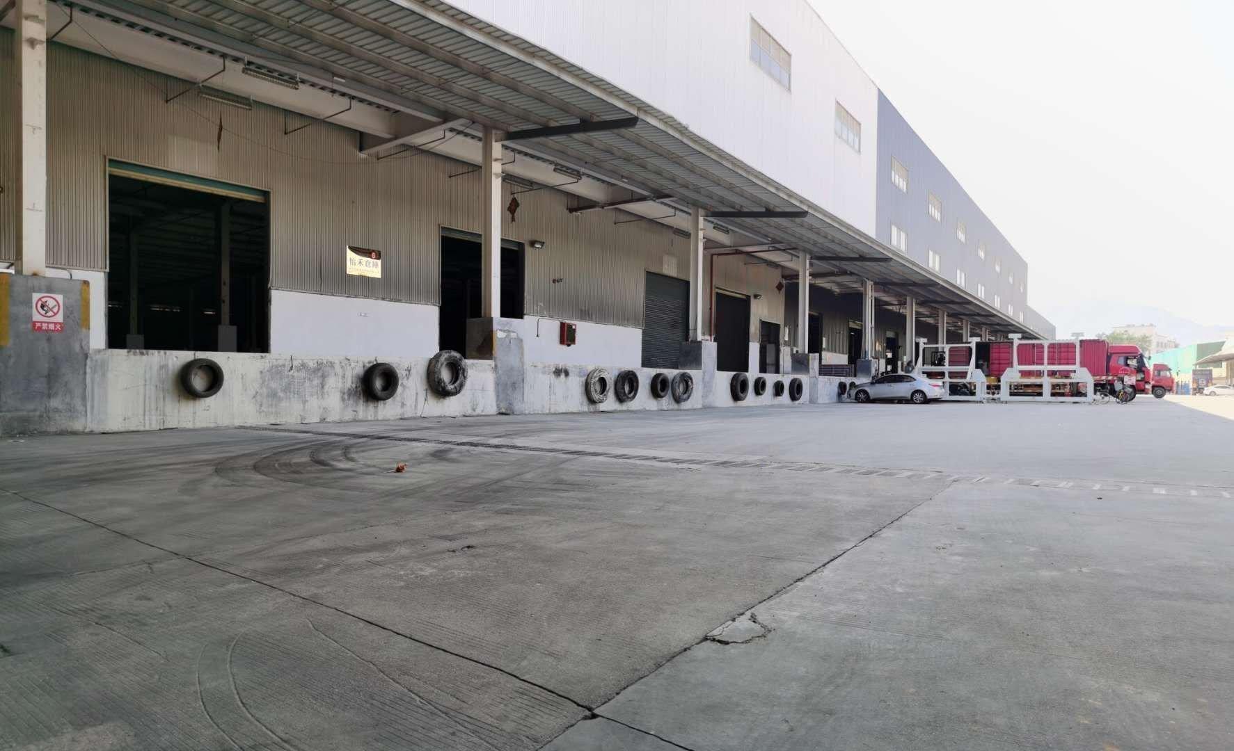 龙岗区横岗安良社区独院钢构2万平方标准物流仓出租,大小可分租